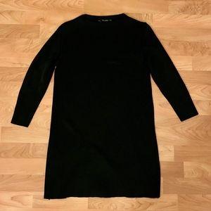 Zara Heavy Knit Ribbed Dress
